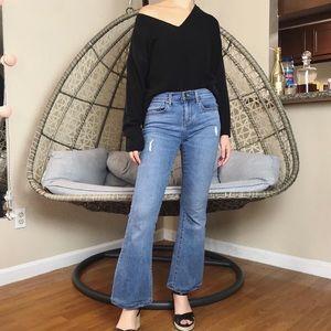 Banana Premium Super Stretch Flare Jeans - Blue